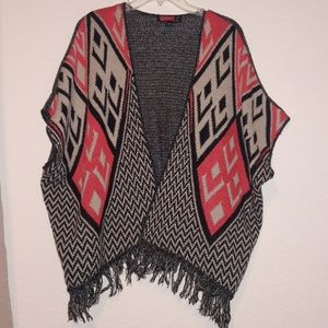 Sweater poncho